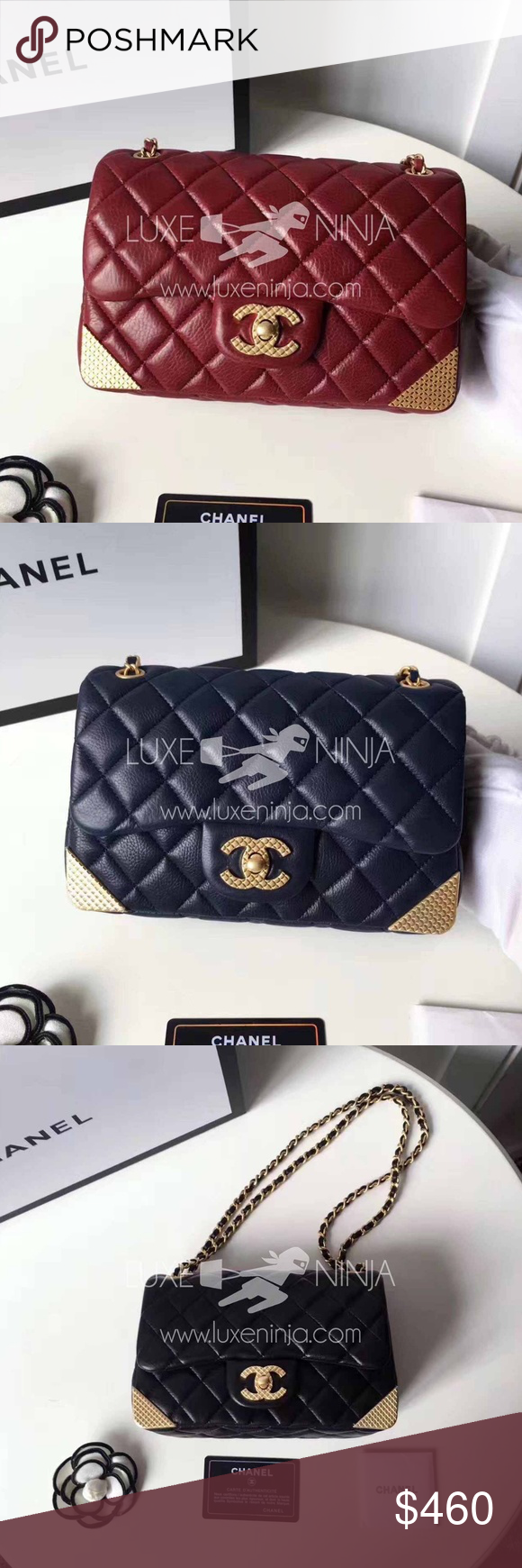 5f5c7894cbc8 Chanel Triangle Flap Bag 2017! 2017 Season Chanel Triangle Flap Bag  Excellent Quality Distressed Lambskin Leather with Gold Hardware Ships  within 7-12 days.