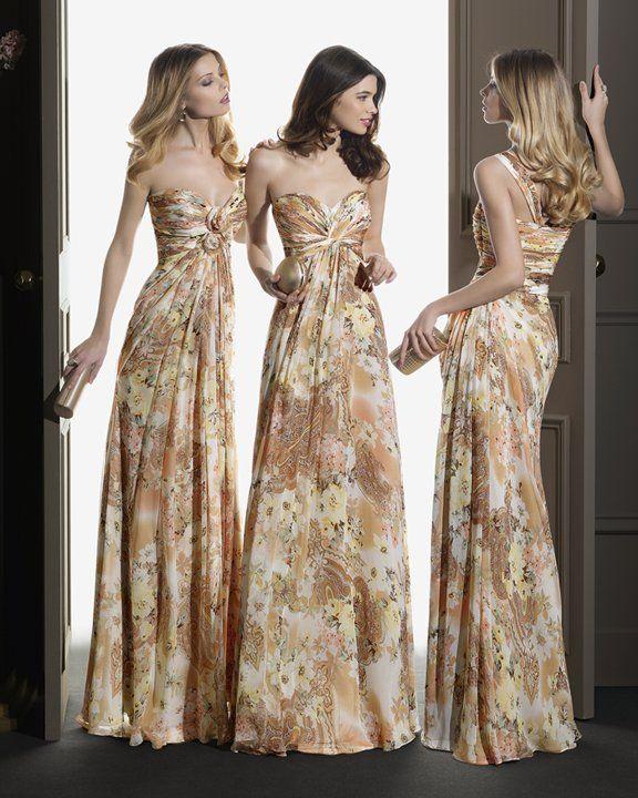 Vestidos para damas de honor barcelona