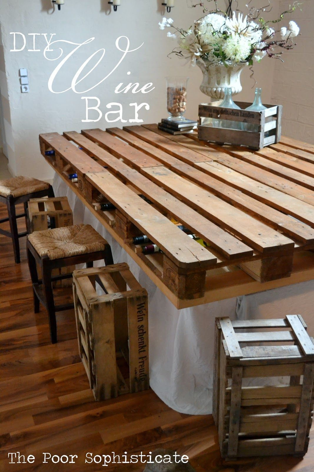 Gorgeous low cost pallet bar diy ideas for your home plans diy