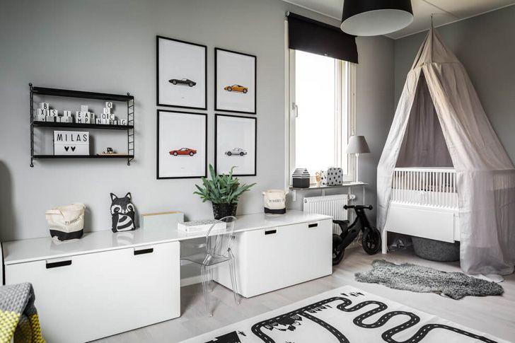 Простая и уютная квартира в Стокгольме Интерьер Архимир vaiko