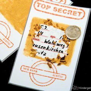 Detektiv Geburtstag Einladung