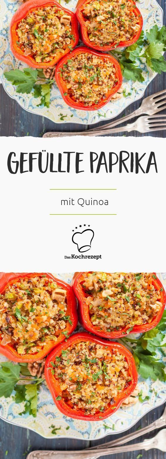 Gefüllte Paprika mit Quinoa