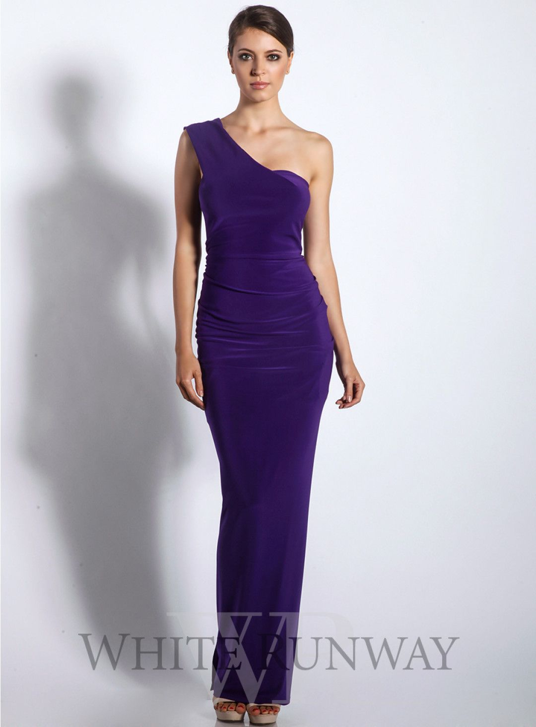 Ebony one shoulder dress a stunning full length dress by mr k a a stunning full length dress by mr k a one bridesmaid dresses onlineone ombrellifo Choice Image