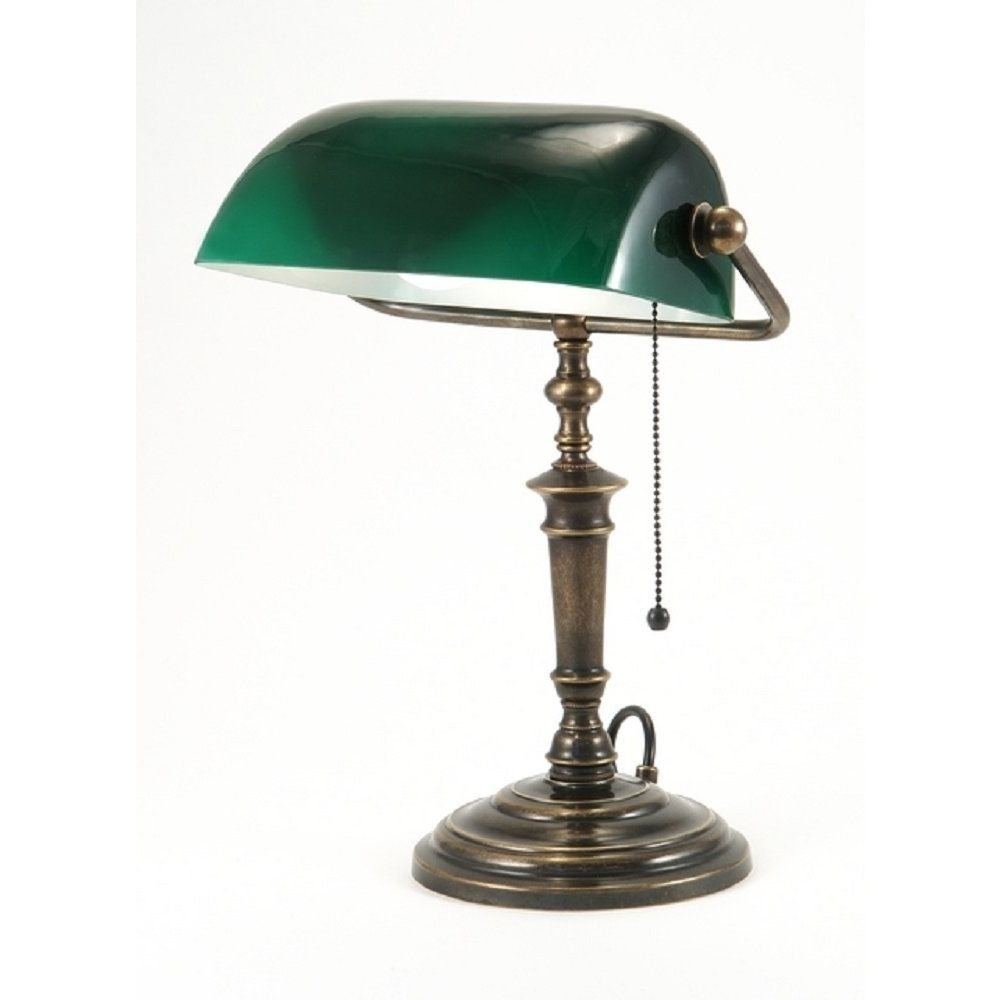 Traditional Desk Lamps Green