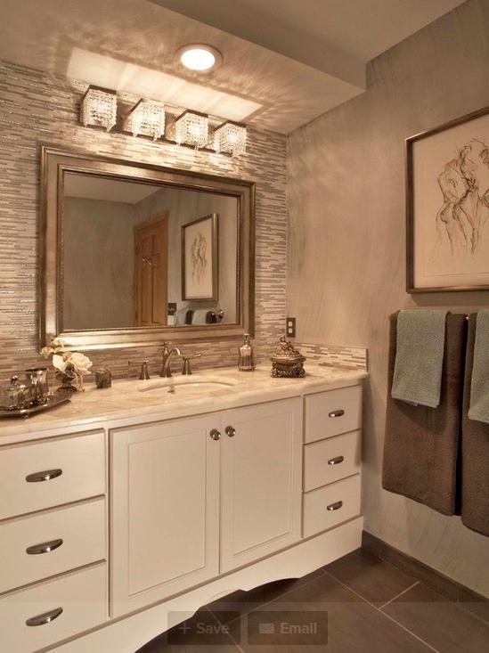 Brushed nickel mirror | Bathroom Beauty | Pinterest | Brushed nickel ...