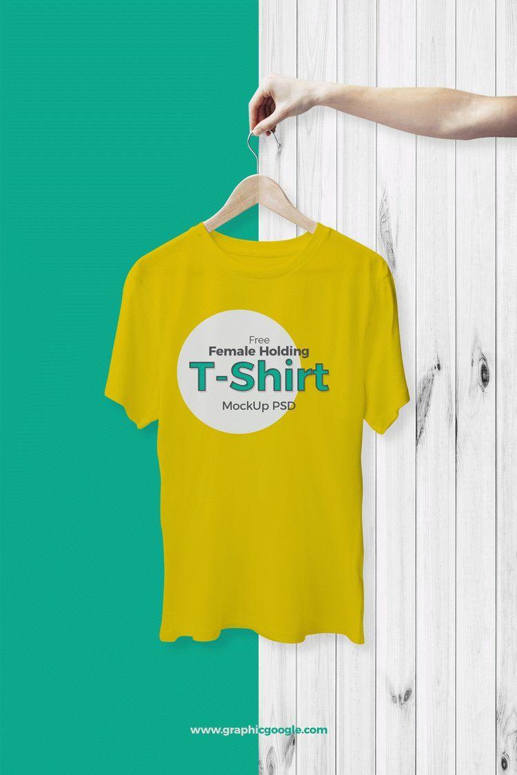 Download Free Female Holding T Shirt Mockup Psd Download Shirt Mockup Tshirt Mockup Tshirt Mockup Free