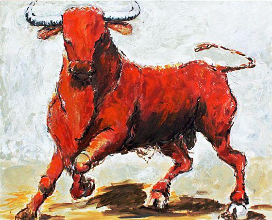 sternbild stier auf leinwand 80 x 100 cm animal art art animals. Black Bedroom Furniture Sets. Home Design Ideas