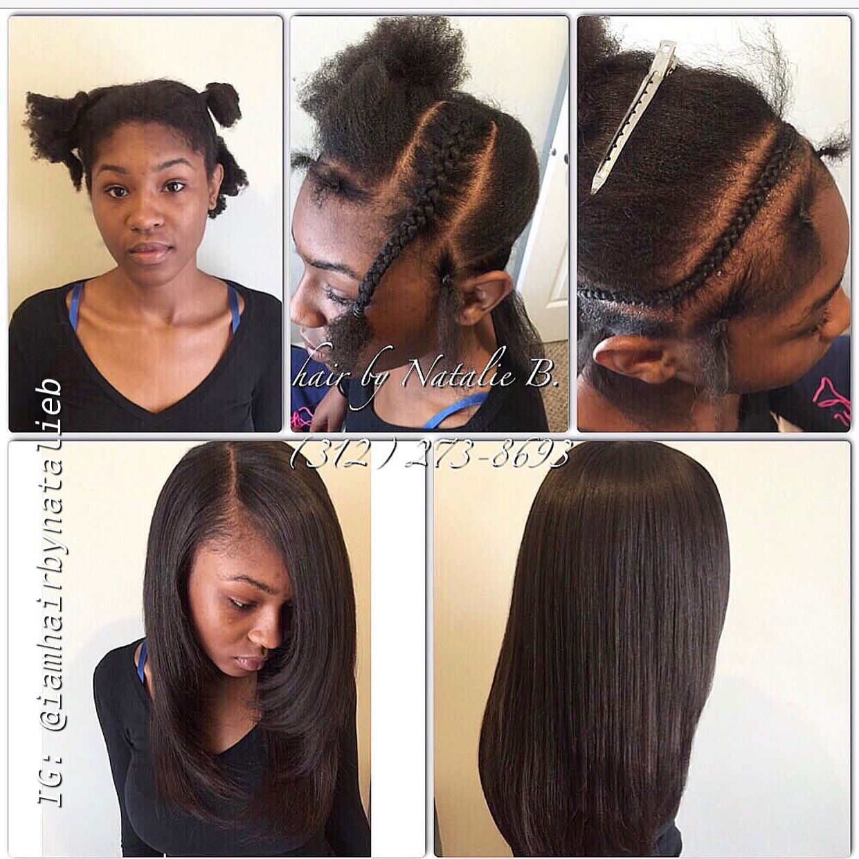 Ooooh La La Eck Out This Traditional Sew In Hair Weave That I