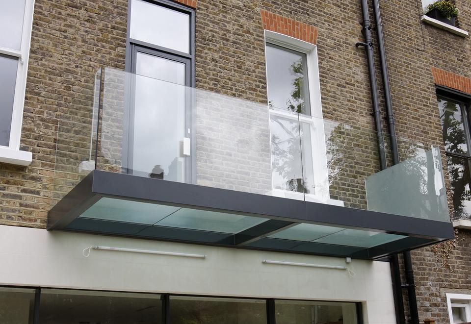 Glass Balcony Small Balcony Indoor Pool Design