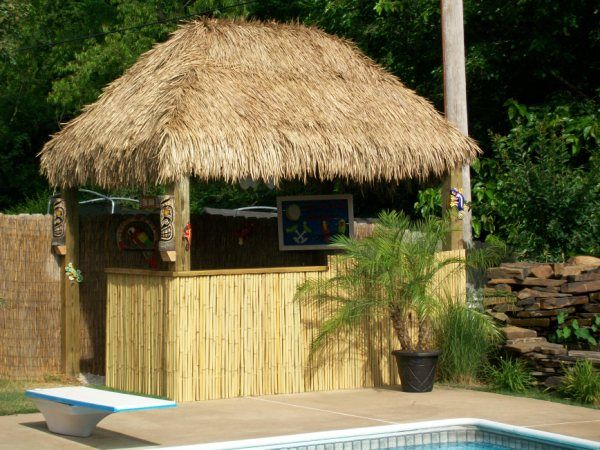 Tiki Thatch The Perfect Home Enhancement Tiki Hut Tiki Bar Thatch