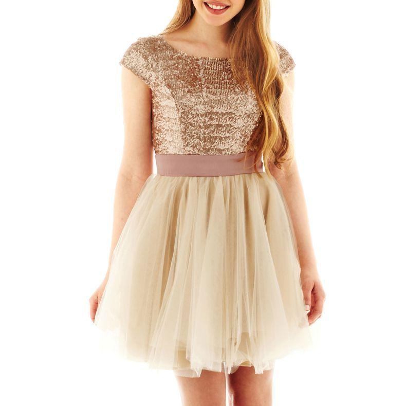 Jcpenney - Trixxi® Sequin Party Dress - Jcpenney