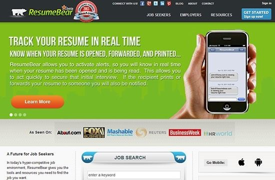 5 Cool Online Tools for Building Your Resume Career, Blogging - building a resume online
