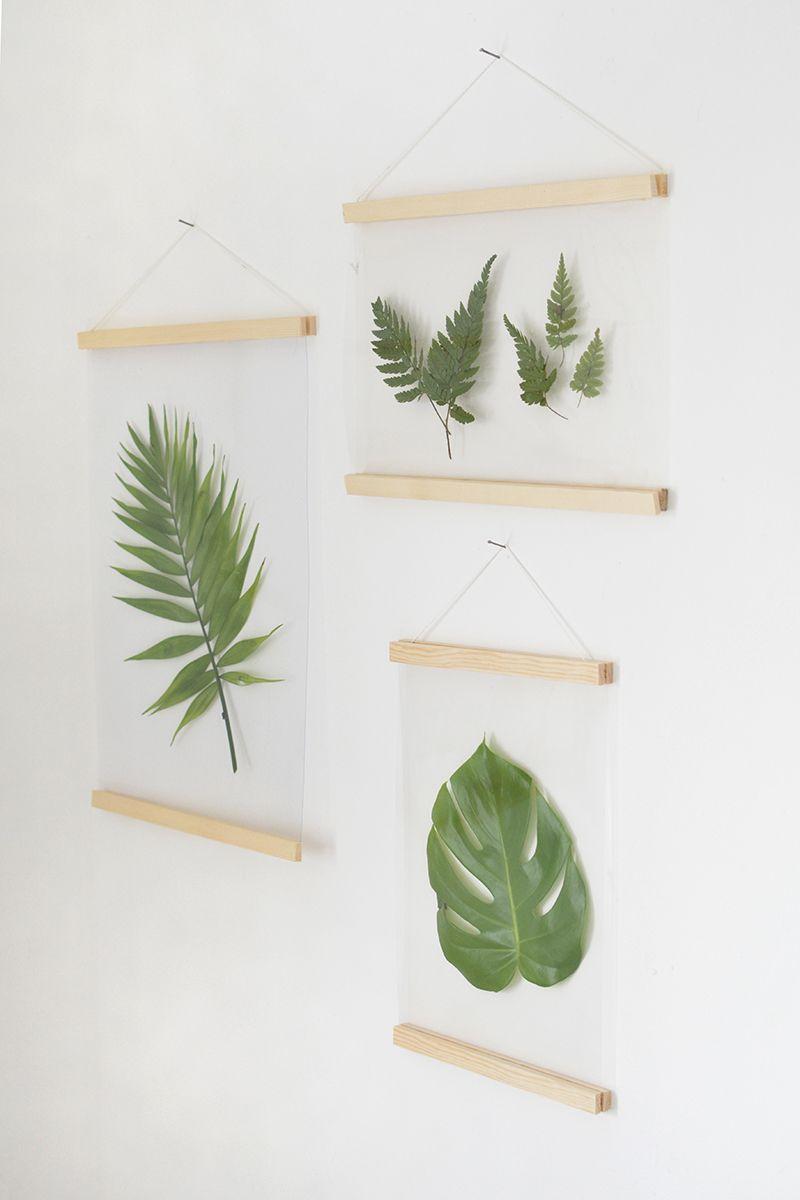 DIY ботанические рамы для картин