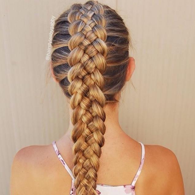 #fivestrand #Dutchbraid #hairstylesbygabby