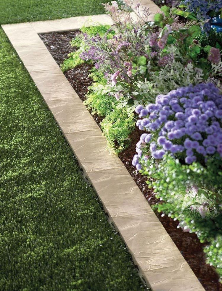 43 Best Lawn Edging Ideas (2019 Guide)   Landscaping and