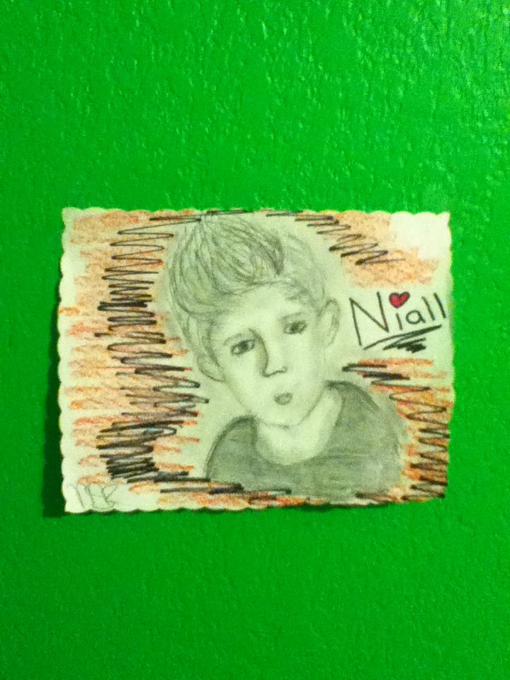 My friend drew me this phenomeNIALL picture of Niall:)
