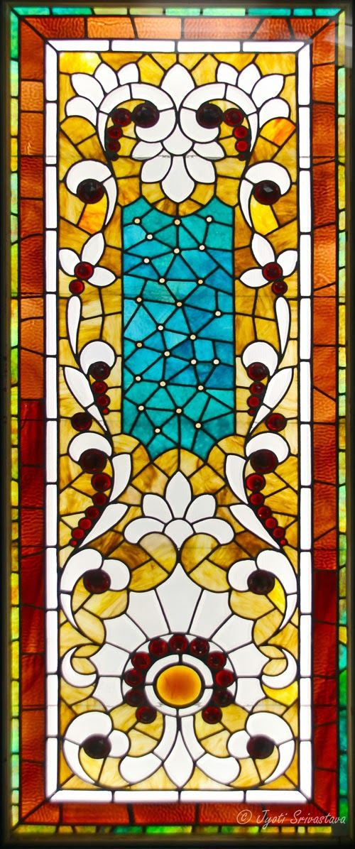 Chicago: Glass Art: Macy's Pedway : American Victorian Stained Glass [Louisville Combo - by unidentified designer]