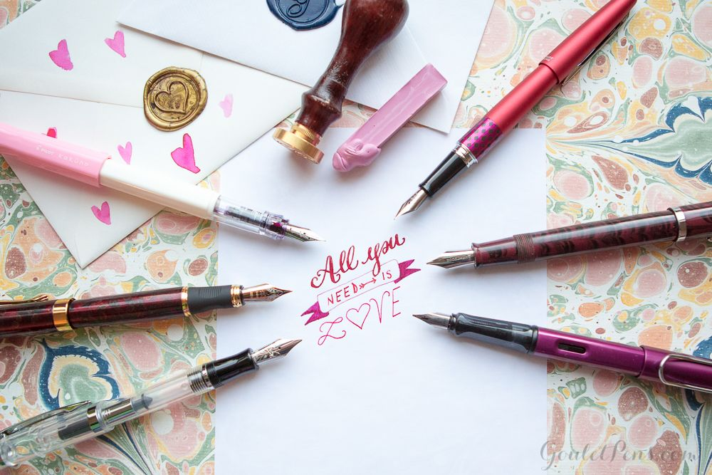 6 pens and inks so perfect for each other, they're giving us all the #RelationshipGoals.