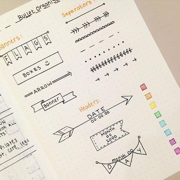 手帳 ノートをお洒落に彩る 簡単デザイン文字の書き方8選 Locari ロカリ 文字の書き方 手帳術 手帳 イラスト