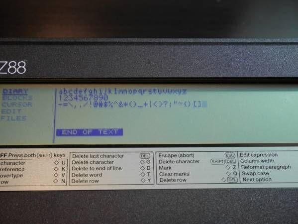 Sinclair Z88 シンクレア_画像3