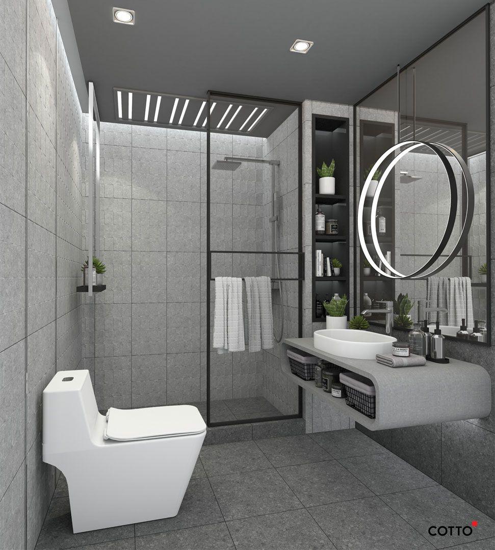 ป กพ นโดย Cotto ใน Bathroom Design By Cotto พอร ซเลน ฝ กบ ว ก อกน ำ
