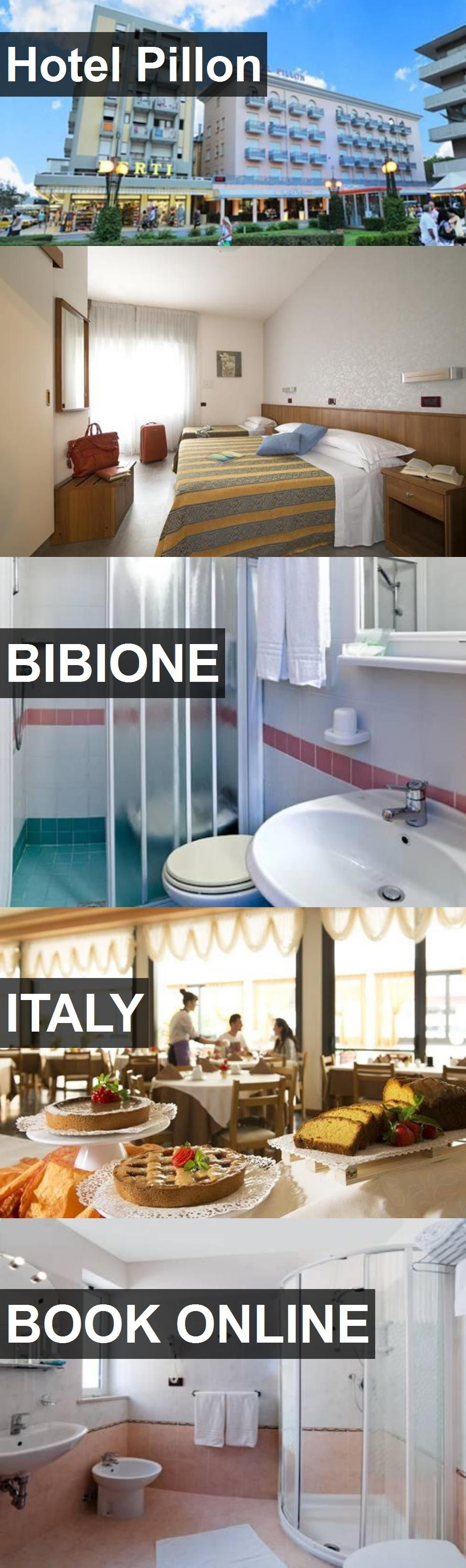 Hotel Pillon in Bibione, Italy. For more information