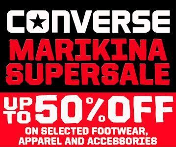 converse marikina sale june 2017