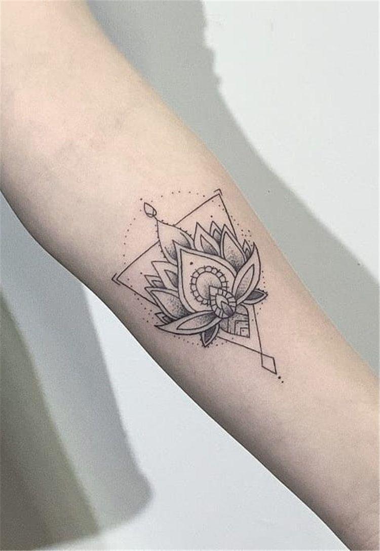 21 Unique Small Tattoos For Blonde Women | Unique small