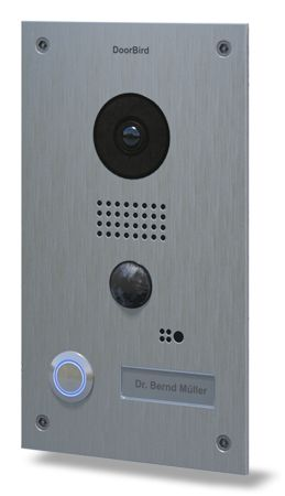 The smartphone and tablet WiFi video door station for iOS