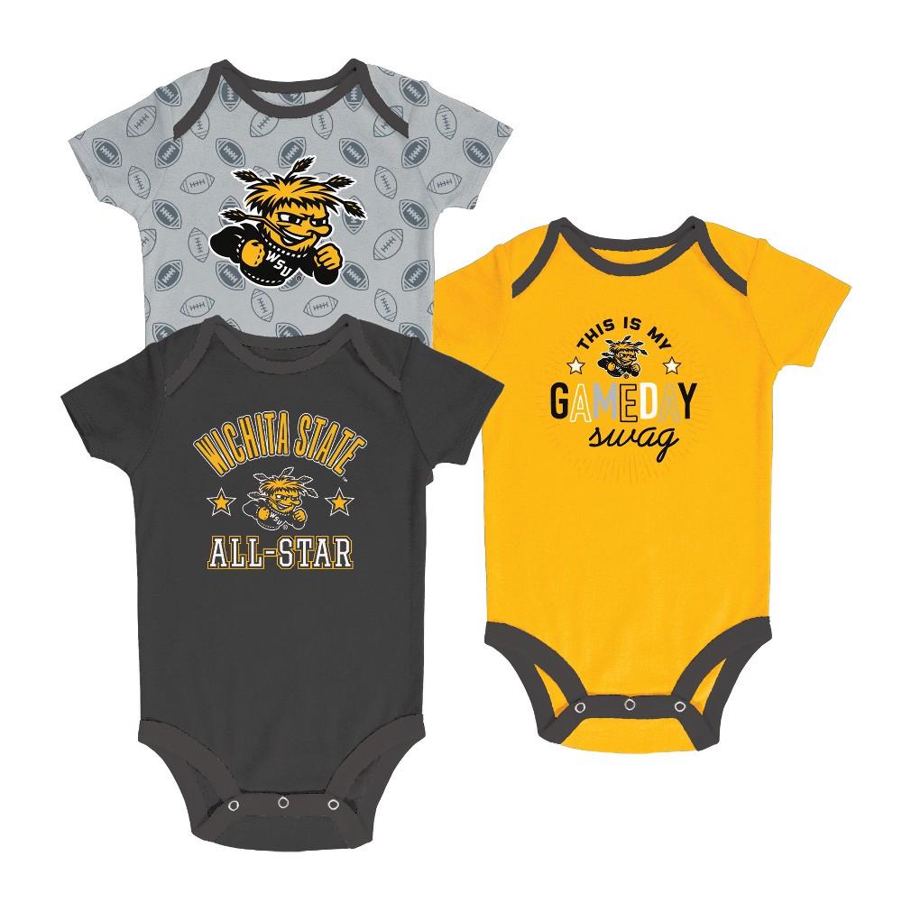 Wichita State Shockers Baby Boy Short Sleeve 3pk Bodysuit - Missouri  Tigers dcb841f7f670