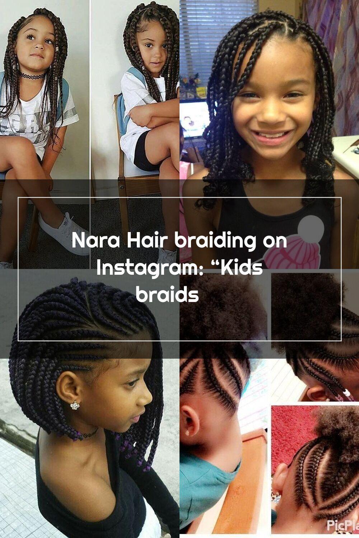 "Nara Hair braiding on Instagram ""Kids braids ️ in 2020"