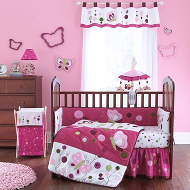 Lambs & Ivy® Raspberry Swirl 4-pc. Bedding Set - jcpenney ...