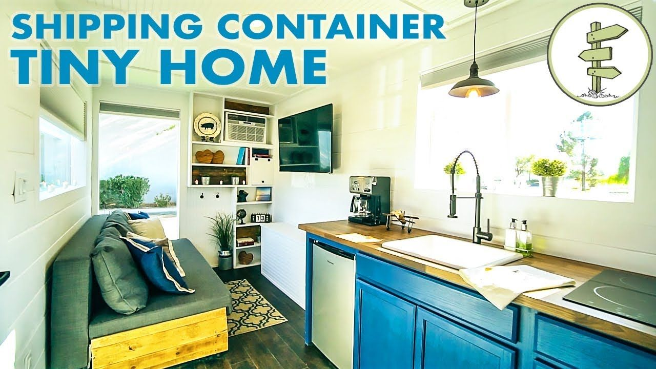 Stunning 20ft Shipping Container Tiny House For 39k