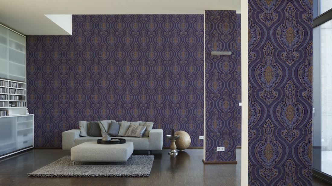 Tapeten im Wohnzimmer; Architects Paper Tapete 961074 Wallpaper