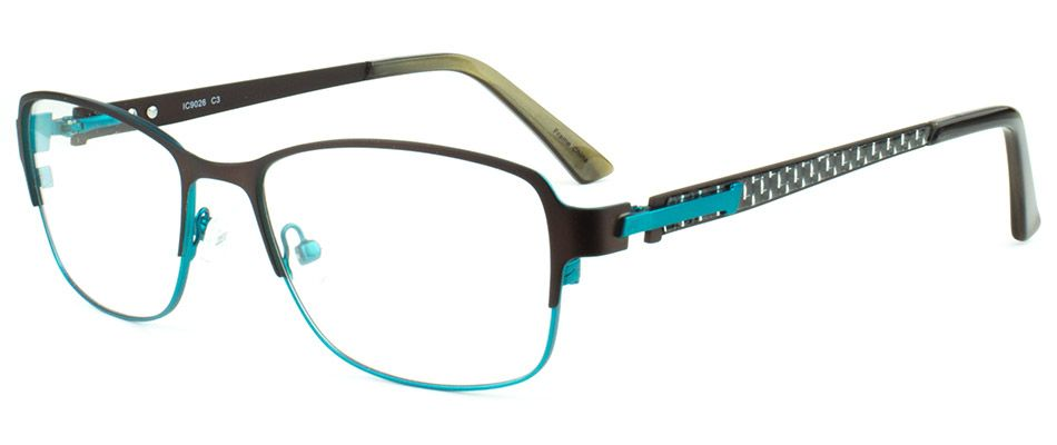 ICE CREAM 9026 BROWN/GREEN | Vogue Optical - 2nd Pair Free - Designer Glasses, 2 Year Guarantee