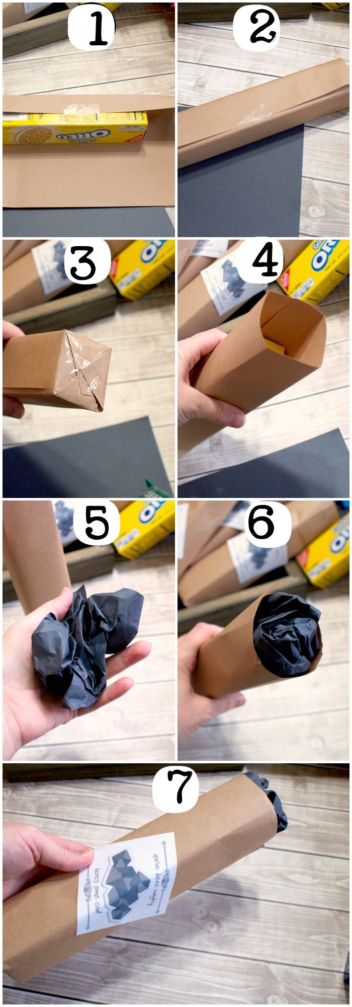 photo tutorial for quick school holiday party gift idea