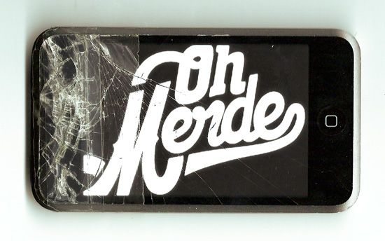 Oh merde iPod touch.