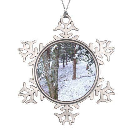 #WINTER WOODS Christmas Ornament - #Xmas #ChristmasEve Christmas Eve #Christmas #merry #xmas #family #kids #gifts #holidays #Santa