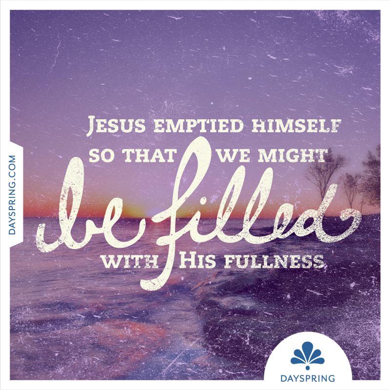 Jesus Emptied Himself - http://www.dayspring.com/ecardstudio/#!/single/772