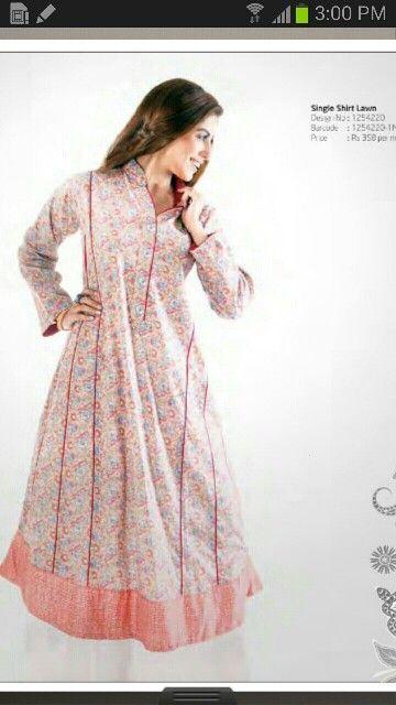 ef42959b70b83 Lawn frock | Pregnancy wear Pakistan in 2019 | Fashion, Dresses ...