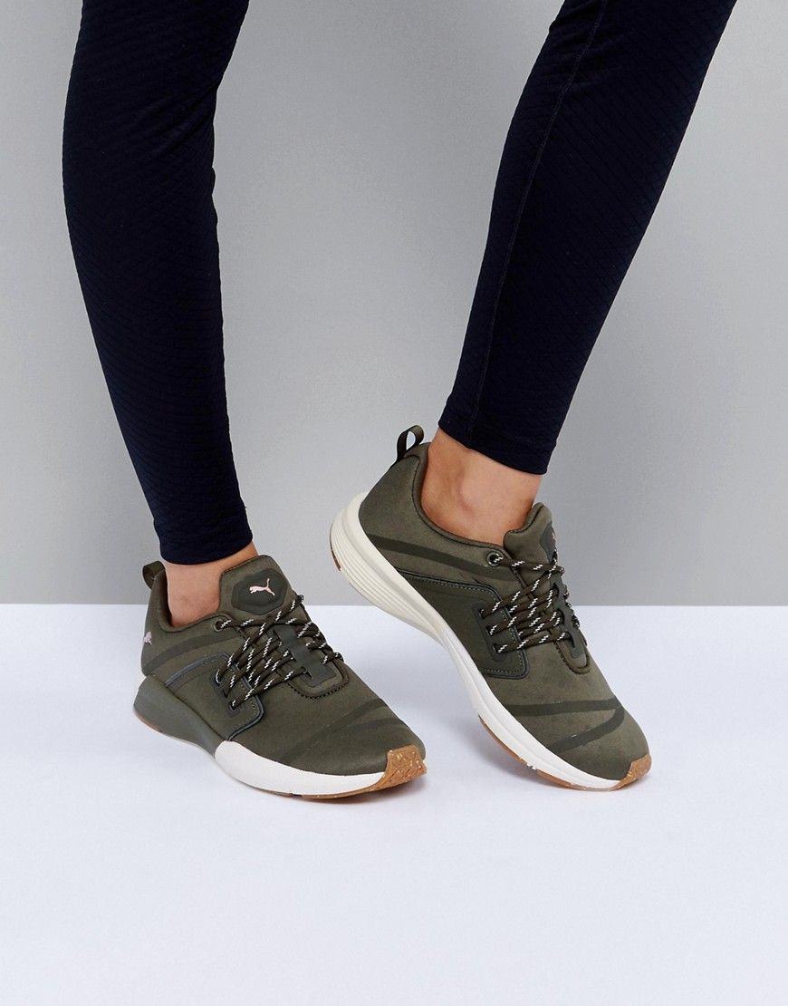 new authentic nice cheap outlet store sale Puma Pulse Ignite Xt Sneakers In Khaki - Green | Green puma shoes ...