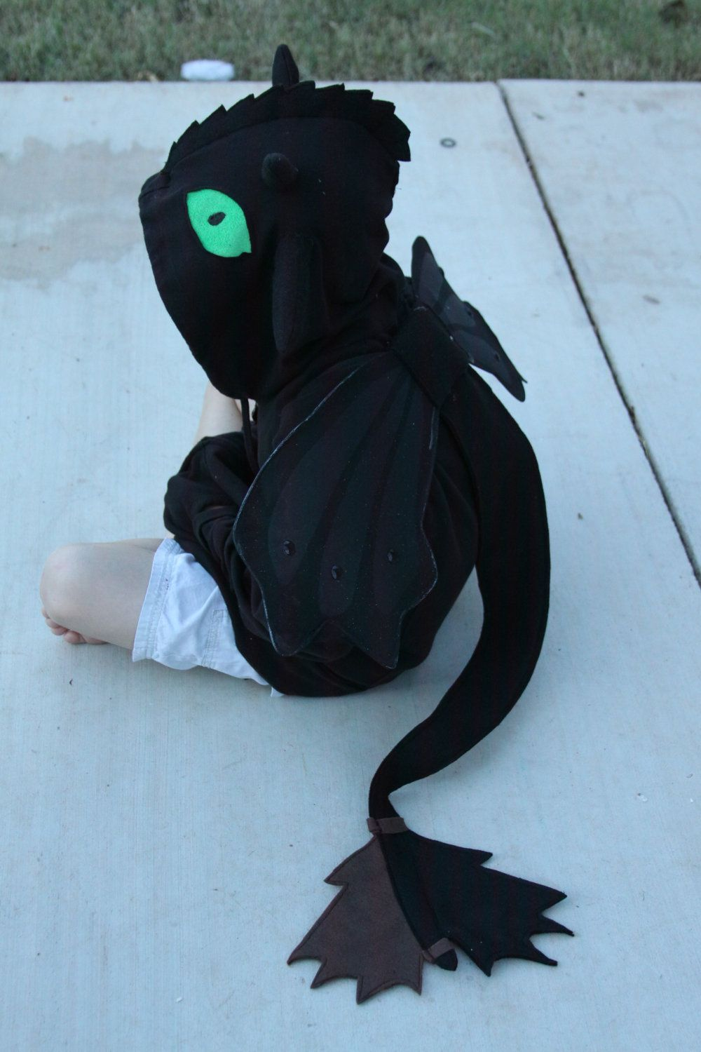How To Train Your Dragon  Toothless Costume For Justin