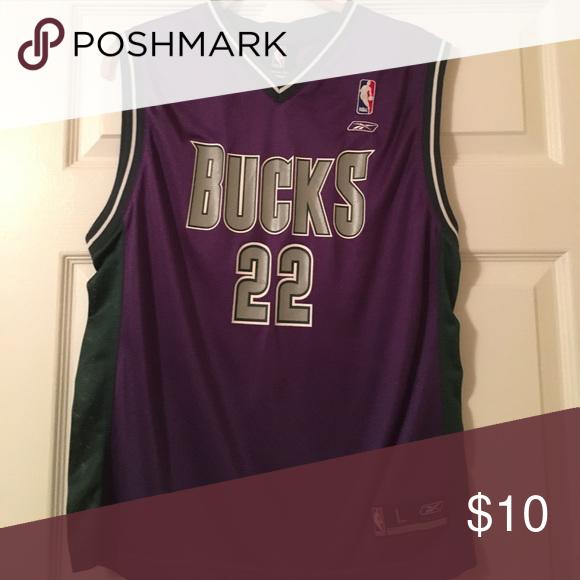 super popular 1b36d b70b2 Vintage Milwaukee bucks jersey! Kid large The old school ...