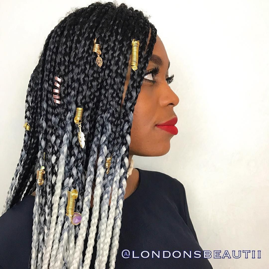 Box Braids done by London's Beautii in Bowie, Maryland ...