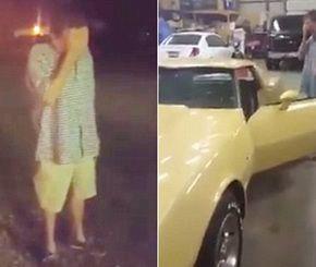 فيديو: رجل يبكي لرؤية سيارته بعد ربع قرن من بيعها #سيارات #تيربو_العرب #صور #فيديو #Photo #Video #Power #car #motor