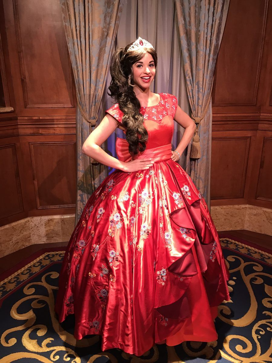 Princess Elena Of Avalor Meet And Greet At The Magic Kingdom Walt