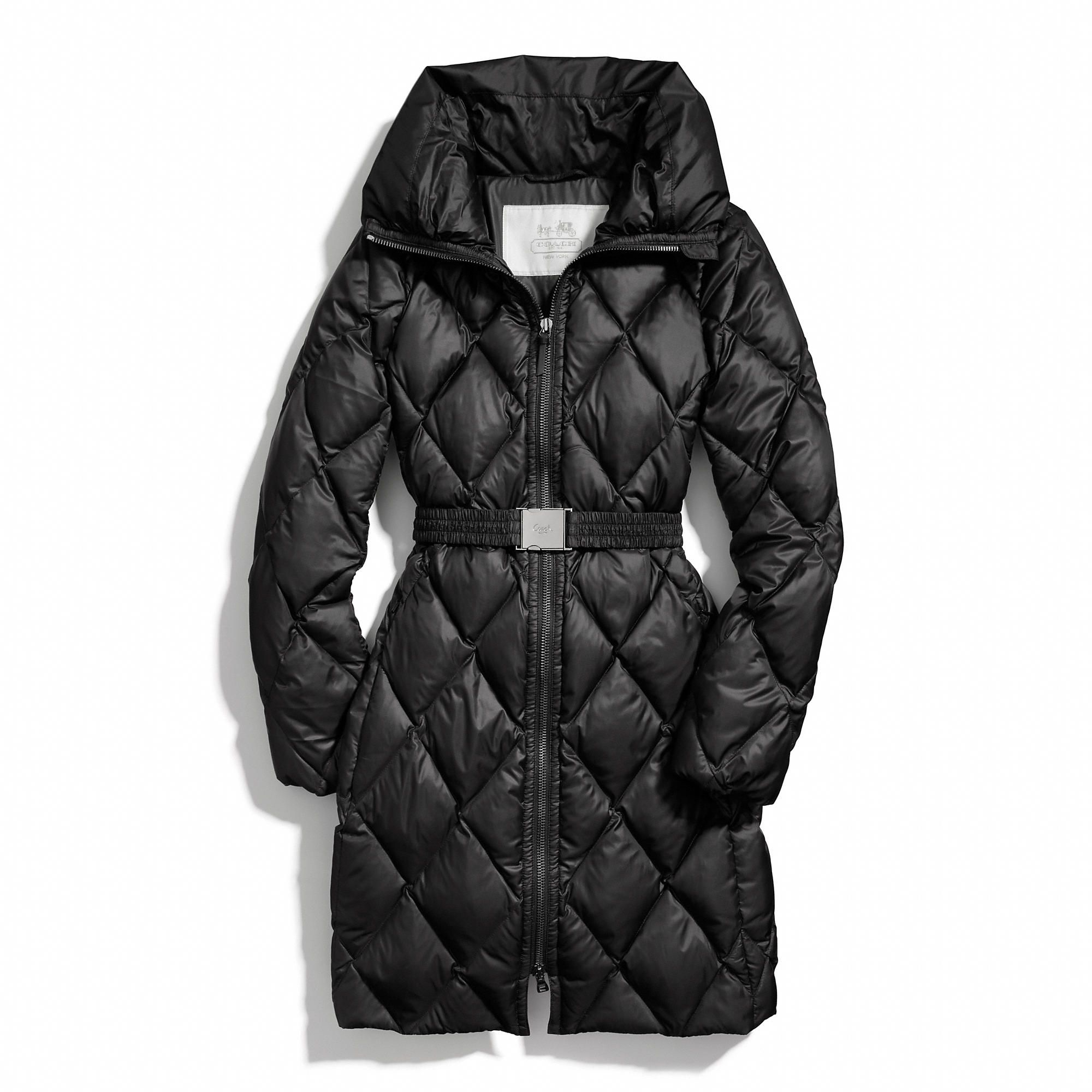 Coach Long Legacy Puffer Jacket Coach Outfits Designer Outfits Woman Clothes Design [ 2000 x 2000 Pixel ]