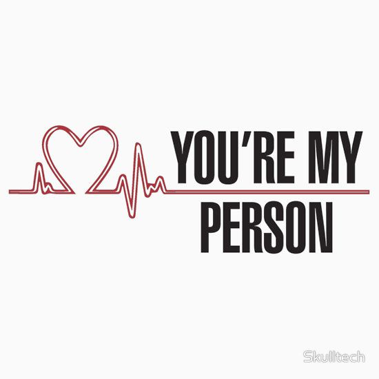 a02ca6bc074 Grey's Anatomy - You're My Person | Stuff to Buy | Greys anatomy ...