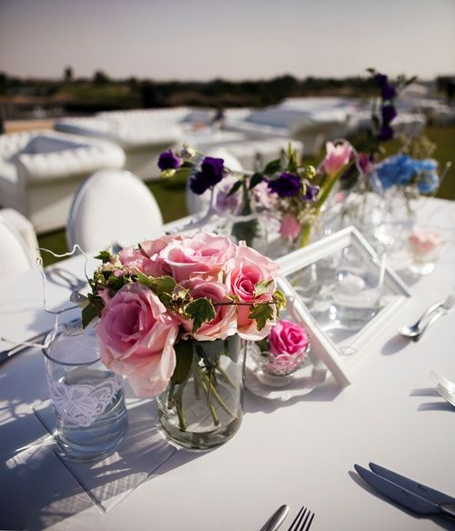 A beautiful garden themed afternoon wedding on a golf course with the sweet sun glittering away by Vintage Bloom Dubai