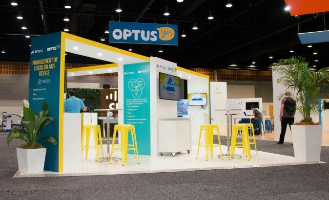 Incorporate Corporate Colours Quickly And Easily On Your Exhibition Custom Stand Or Trade Show Booth Using A Cu Booth Design Tradeshow Booth Trade Show Display